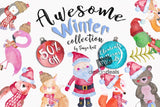 Whimsical Winter Graphics - Only $39! - MyDesignDeals