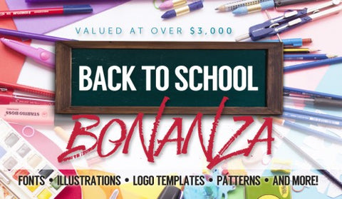 Back To School Bonanza (HUGE Savings!!!) - MyDesignDeals