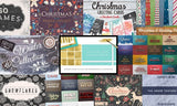 "The ""Better Than Christmas Morning"" Winter Bundle - Only $29 - MyDesignDeals"