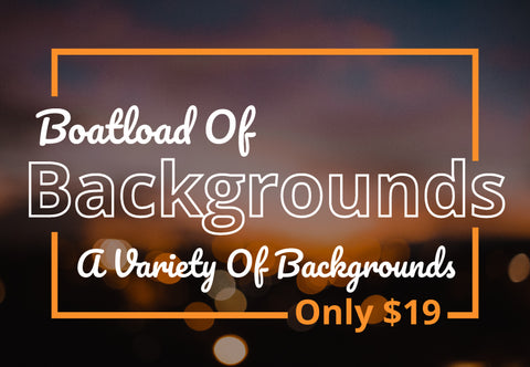 Boatload Of Backgrounds - Just $19 - MyDesignDeals