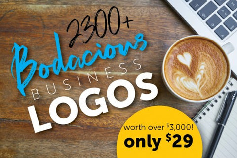 Bodacious Business Logo Bundle For Designers of Every Skill Level - $29 - MyDesignDeals