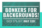 Bonkers For Backgrounds - Over 97% Off - Only $39 - MyDesignDeals