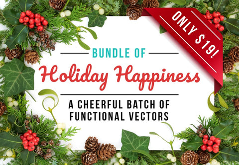 Bundle Of Holiday Happiness - Just $19 - MyDesignDeals