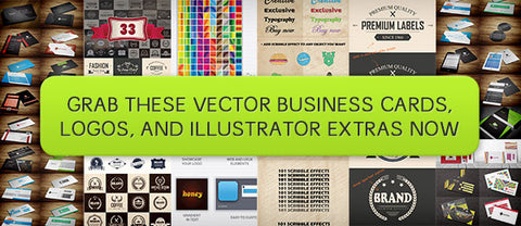 Vector Business Cards, Logos, and Illustrator Extras - Only $21 - MyDesignDeals
