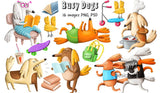 Silly Illustrations & Graphics - Over $1300 Worth - MyDesignDeals