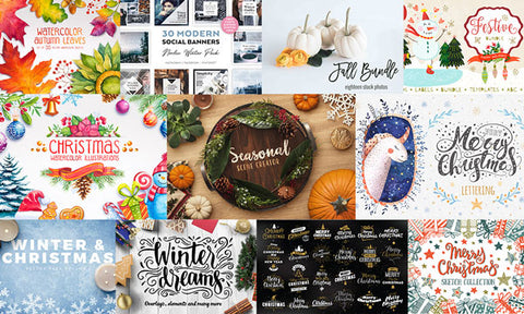 The Exhaustive 2016 Fall and Christmas Collection - Only $39 - MyDesignDeals