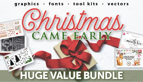 Christmas Came Early MEGA HUGE Bundle - Only $39! - MyDesignDeals