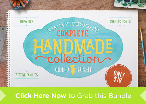 The Complete Handmade Collection - Only $19 - MyDesignDeals