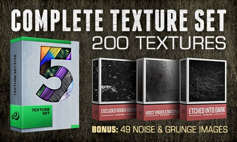 Complete Texture Set from Go Media + 3 Bonus Packs - Only $27 - MyDesignDeals