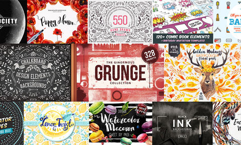 The Crazy-Big Bundle of Top Design Goods - MyDesignDeals