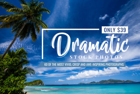 Dramatic Stock Photos - Only $39 - MyDesignDeals