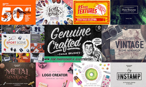 The Everything You Need Design Bundle - MyDesignDeals