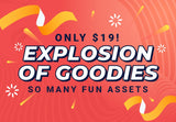 Explosion Of Goodies - Just $19 - MyDesignDeals