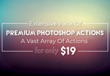 Extensive Pack Of Premium Photoshop Actions - Just $19 - MyDesignDeals