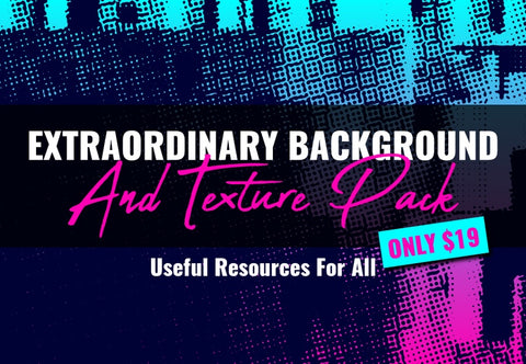 Extraordinary Backgrounds And Texture Pack - Just $19 - MyDesignDeals