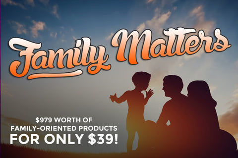 Family Matters - Family-Oriented Products! - Only $39 - MyDesignDeals