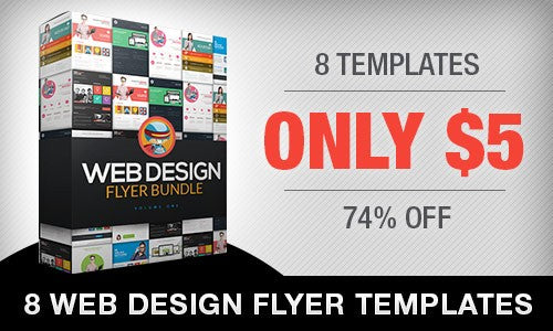 Professional Web Design And Business Flyer Templates Only 5