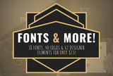 Fonts & More - Only $15 - MyDesignDeals