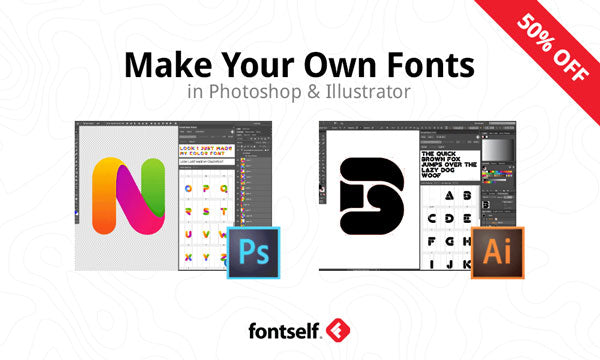 making fonts in photoshop