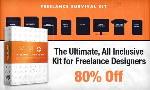 The Ultimate, All Inclusive Kit for Freelance Designers - Only $20 - MyDesignDeals