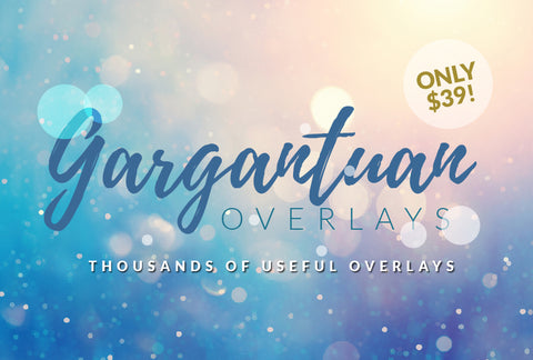 Gargantuan Overlays - Thousands Of Useful Overlays - 99% OFF - MyDesignDeals