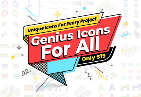 Genius Icons For All - Just $19