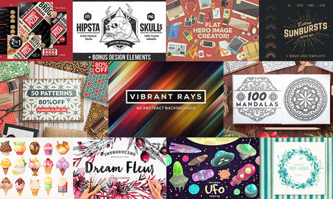 The Giant Collection of Rare Design Elements - MyDesignDeals