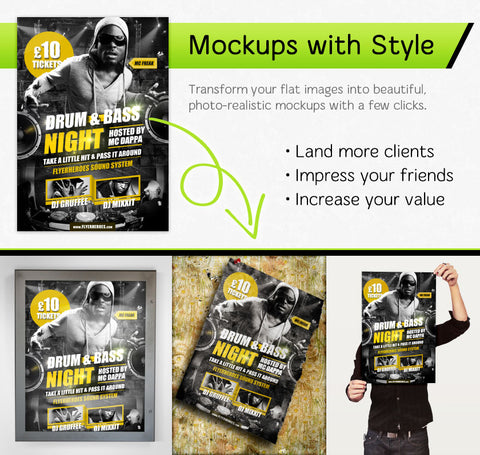 giant gomedia mockup template 4-pack - only $45 – mydesigndeals, Powerpoint templates
