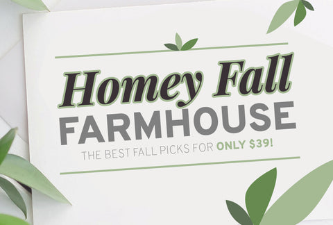 Homey Fall Farmhouse - Just $39! - MyDesignDeals
