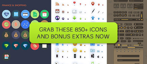 Litos: 125 Full Color, Premium Vector Icons - Only $10 - MyDesignDeals