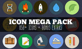 259 Premium, Full-Color Icons (Plus Tons of Bonus Extras) - Only $15 - MyDesignDeals