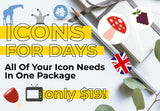 Icons For Days - Just $19 - MyDesignDeals