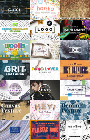 The Imaginative Designer's Wish List Bundle - Only $29 - MyDesignDeals
