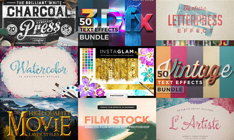 The Totally Insane Photoshop and Illustrator Addons Collection (w/Extended Licensing) - Only $39 - MyDesignDeals