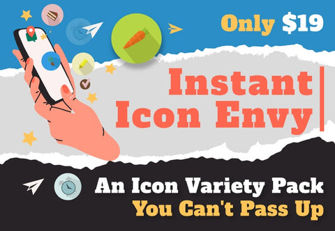 Instant Icon Envy - Just $19 - MyDesignDeals
