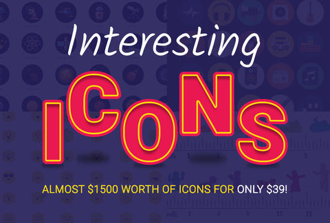 Interesting Icons - Worth Almost $1,500! - MyDesignDeals