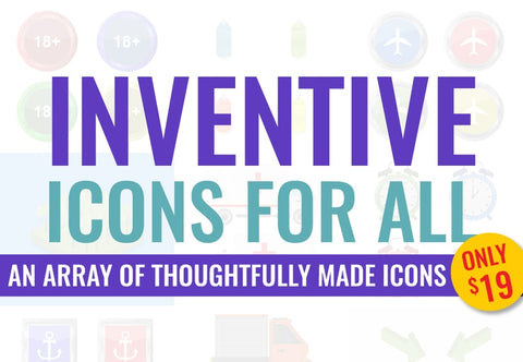 Inventive Icons For All - Just $19 - MyDesignDeals
