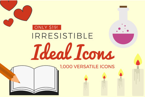 Irresistible Ideal Icons - Just $19! - MyDesignDeals