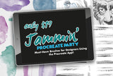 Jammin' Procreate Party - Must Have Brushes - SAVE $88 - MyDesignDeals