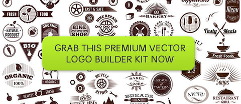 LogoZilla 2: Over 295 Vector Elements (Plus Bonus Mockups) - Only $29 - MyDesignDeals