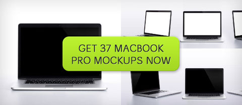 37 Ultra High-Res MacBook Pro Mockups - Only $6 - MyDesignDeals