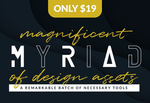 Magnificent Myriad Of Design Assets - Just $19 - MyDesignDeals