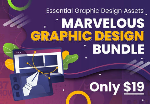 Marvelous Graphic Design Bundle - Just $19 - MyDesignDeals