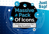 Massive Pack Of Icons - Just $19 - MyDesignDeals