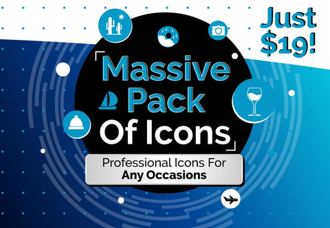 Massive Pack Of Icons - Just $19