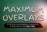 Maximum Overlays - 31 Sets Of Outstanding Overlays - Only $25 - MyDesignDeals