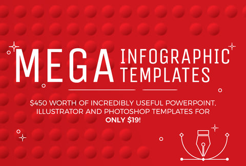 Mega Infographic Templates - Only $19 - MyDesignDeals