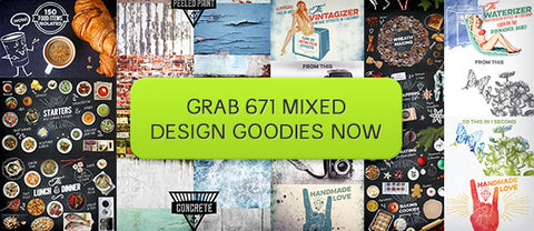 Mousemade Mixed Goodies Collection - Only $28 - MyDesignDeals