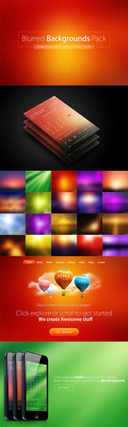 267 Modern Backgrounds - Only $15 - MyDesignDeals
