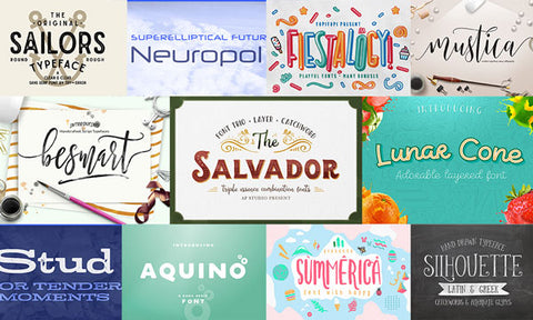 The Most Wanted Fonts Bundle - Only $39 - MyDesignDeals